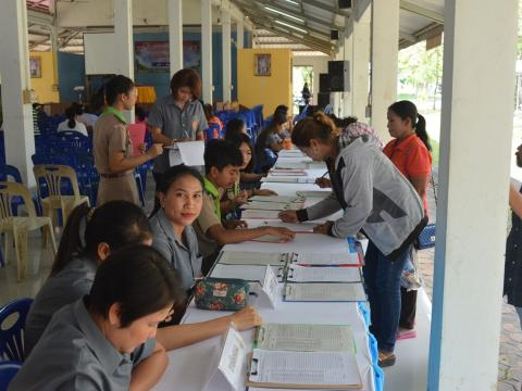 ประชุมผู้ปกครอง นักเรียน นักศึกษา ประจำปีการศึกษา 2561