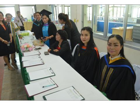 พิธีมอบประกาศนียบัตรและปัจฉิมนิเทศนักเรียน นักศึกษา ประจำปีการศึ